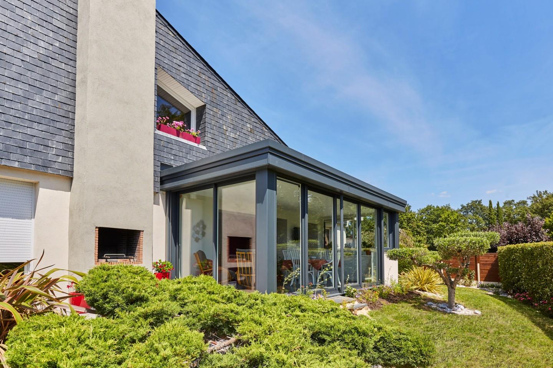 L'extension Esthète et sa toiture plate compacte