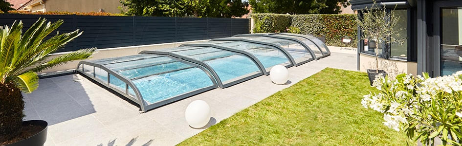 Notre choix : l'abri de piscine !