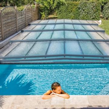 L'abri de piscine permet-il d'augmenter la température de l'eau ?