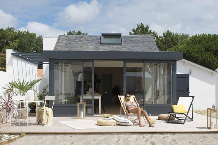L'abri de terrasse pour profiter plus longtemps de ses extérieurs