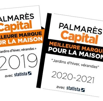 Véranda Gustave Rideau, élue meilleure marque pour la maison 2020-2021 !