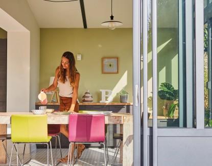 Comment installer sa salle à manger dans une véranda ?