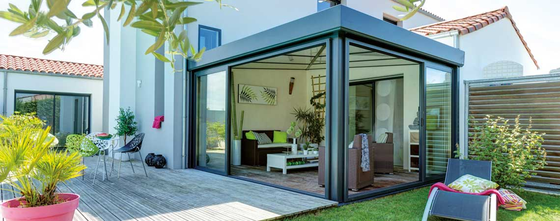 La véranda: une solution astucieuse pour couvrir une terrasse